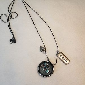 Origami owl charm necklace